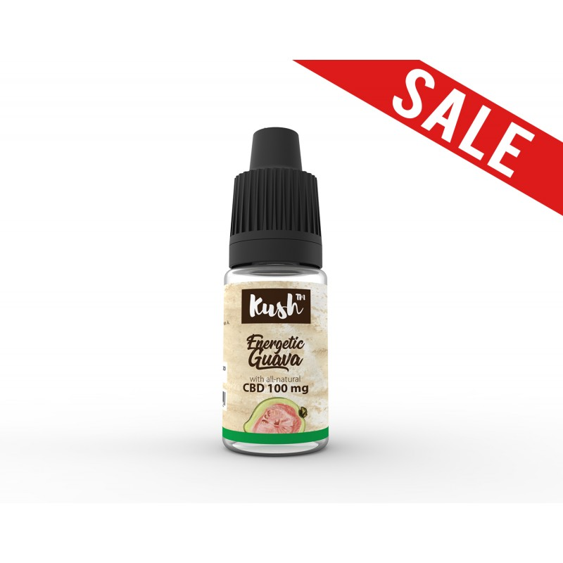 Energetic Guava 100 mg CBD 10 ml