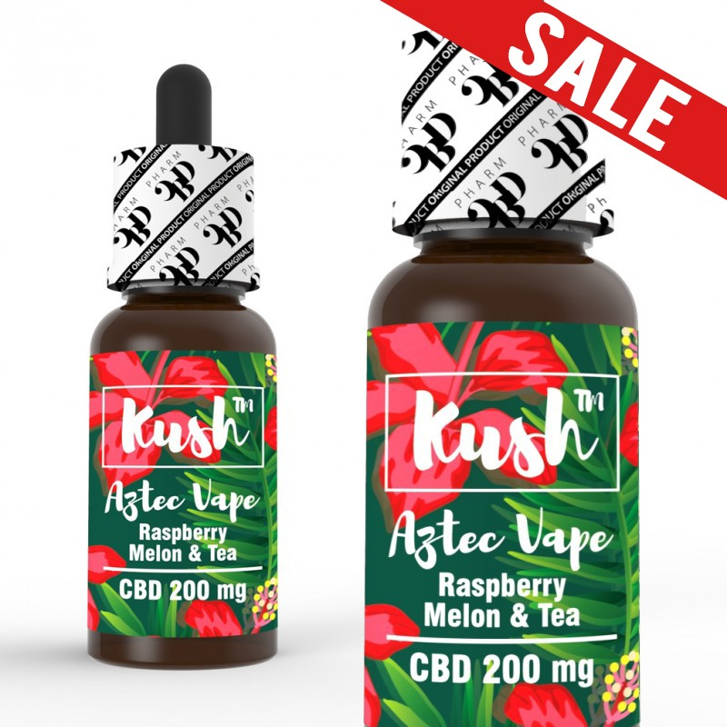 Kush Standard Aztec Vape 250/500/1000 mg CBD 10 ml