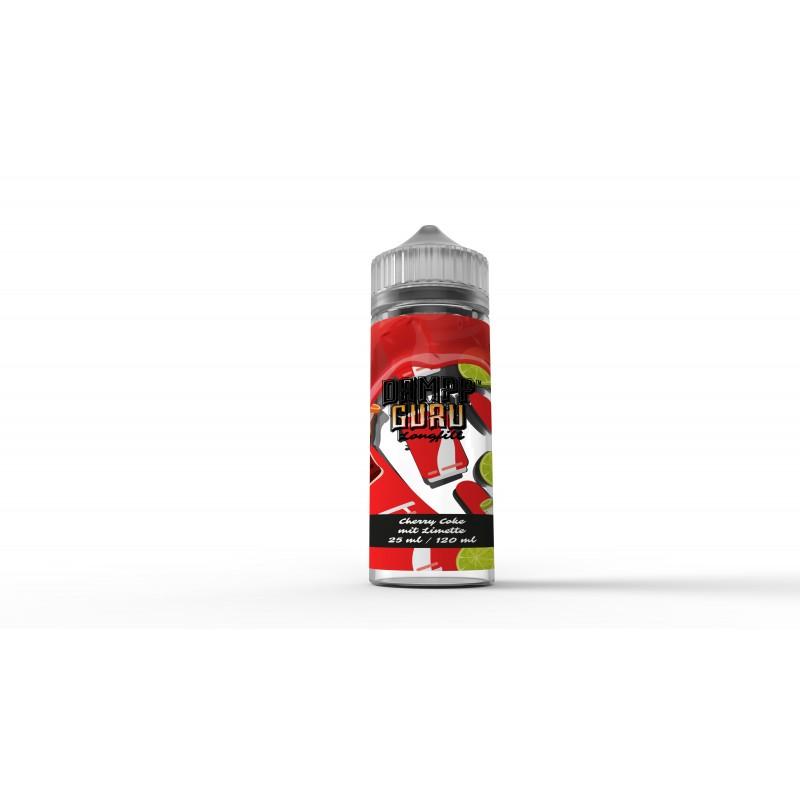 LONGFILL DAMPFGURU - Cherry Coke mit Limette