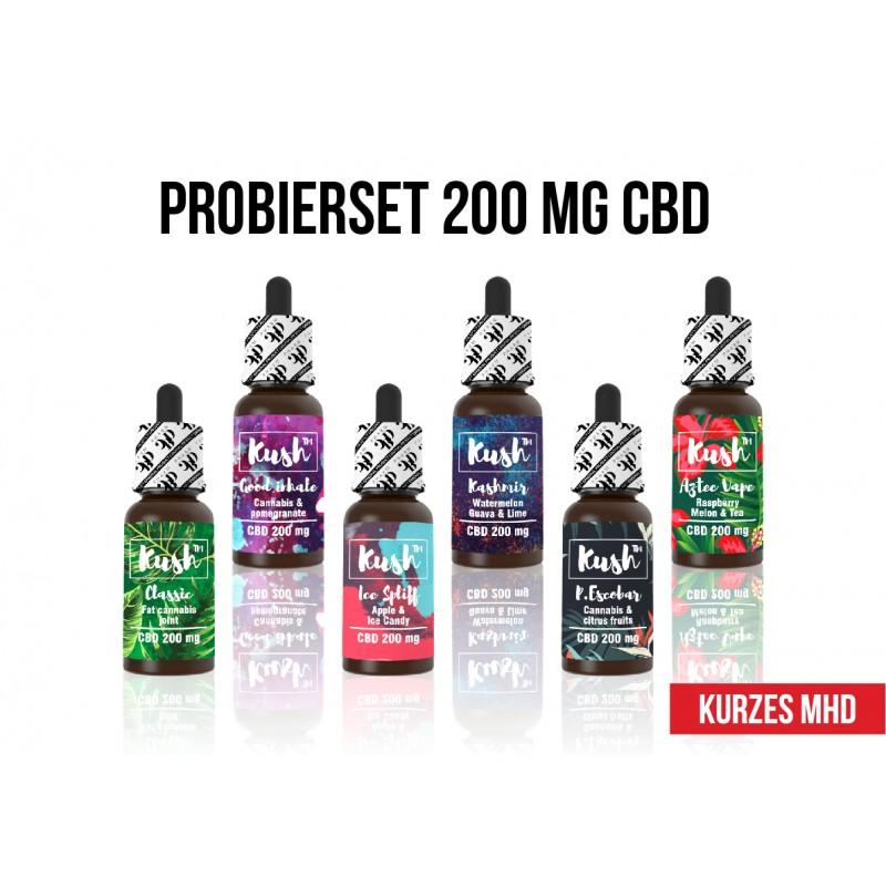 20 x KUSH 200 mg Produktmix MHD 05 - 11.2021