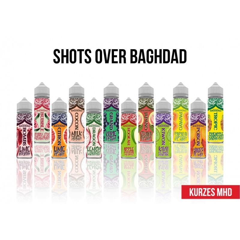 12 x Shots over Bagdad 60 ml Probierset