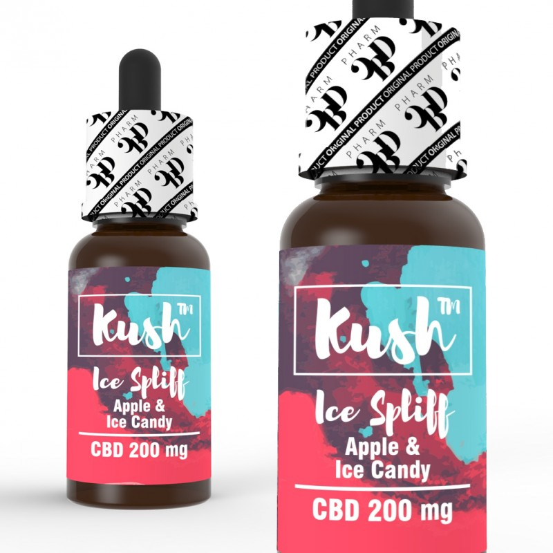 Ice Spliff 200, 500, 1000 mg CBD 10 ml