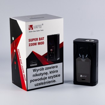 vaptio super bat 220w tc box mod